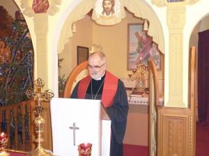 Епископ НЕЛЦУ Уланд Шпалингер в храме УГКЦ